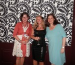 3 great gals from The Knight Agency (Pamela Harty, me and Nephele Tempest)