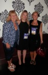 My good friend Nancy Haddock, editor Leis Pederson (Berkley) and me.
